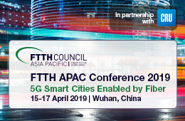 FTTH APAC Conference 2019 in Wuhan - 4-17-2019